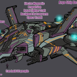 Argo Ship V. 2 Jonboy Design Roughs for Marvel