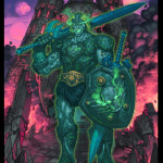 MOTU New Grayskull Green face glow
