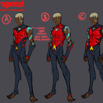 Aqualad Jonboy design