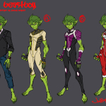 Beast Boy Jonboy design