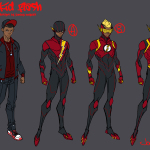 KId Flash Jonboy design