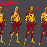 KId Flash V. 2 Jonboy design