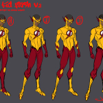 KId Flash V. 3 Jonboy design