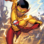 Kid Flash half blur LR